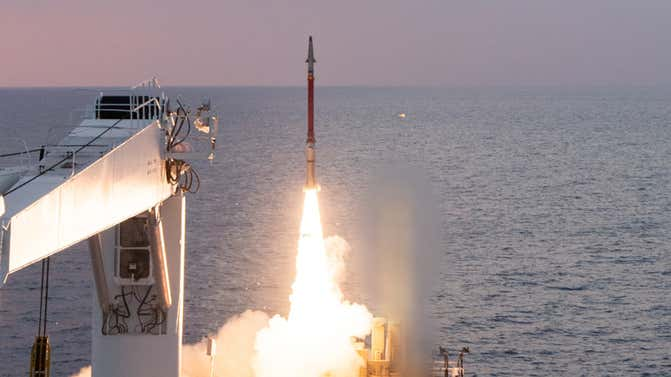 Iron Dome intercepts cruise missiles for first time