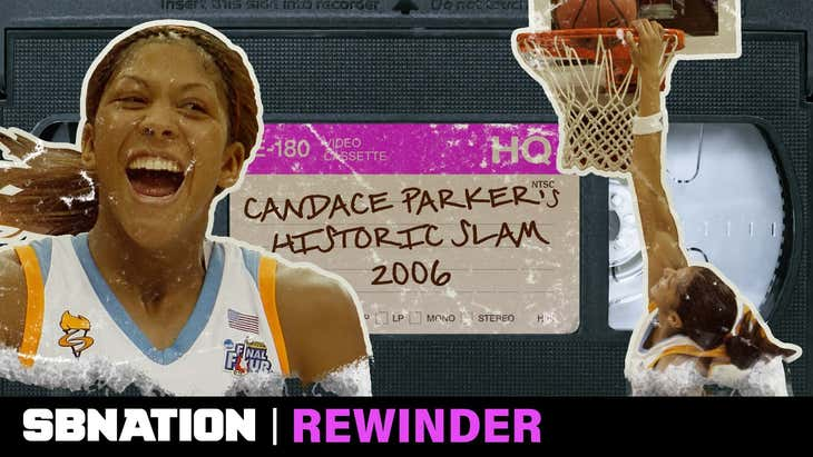 Candace Parker's historic dunk deserves a deep rewind | 2006 NCAA Tournament