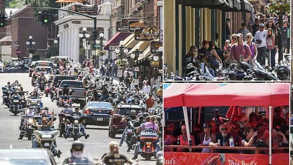 What social distancing? 250,000 bikers begin descending on South Dakota for 10-day festival