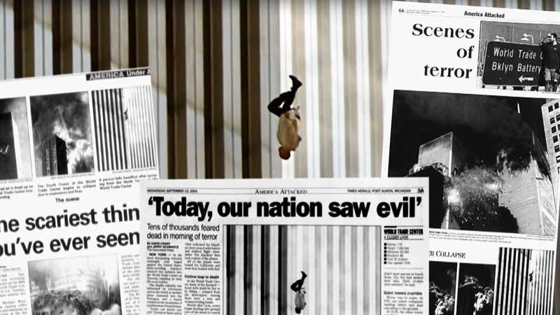 Photographer Behind 'The Falling Man' Looks Back on His 9/11 Photo