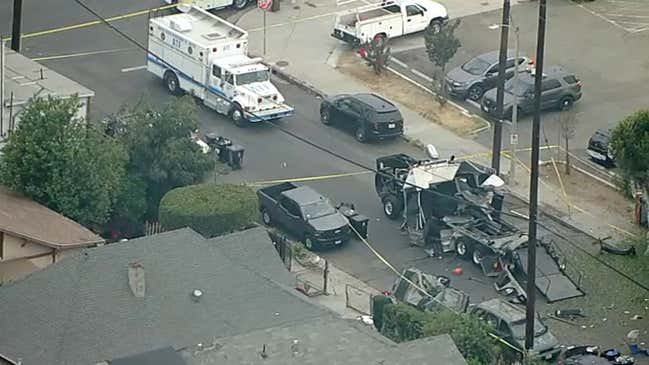 LIVE: LAPD, ATF investigating South Los Angeles explosion; 17 hurt in blast