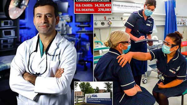 Johns Hopkins professor slams the FDA for holding up approval of COVID vaccine with red tape