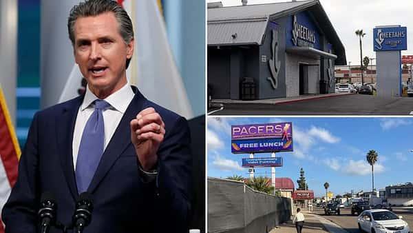 Judge deals blow to Gavin Newsom's lockdown order in landmark strip-club ruling