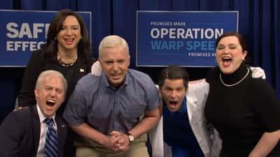 'SNL' unveils new Joe Biden as Jim Carrey exits