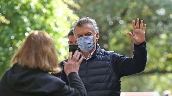 """Mauricio Macri votó en Palermo: """"Este domingo es muy importante porque comienza a definirse en qué tipo de país vamos a vivir"""""""