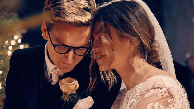 Oliver Proudlock and Emma-Louise Connolly: Married life has so far been 'cosy'