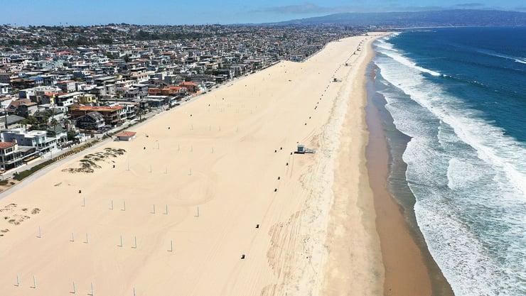 California Limits July Fourth Celebrations to Combat Coronavirus Surge