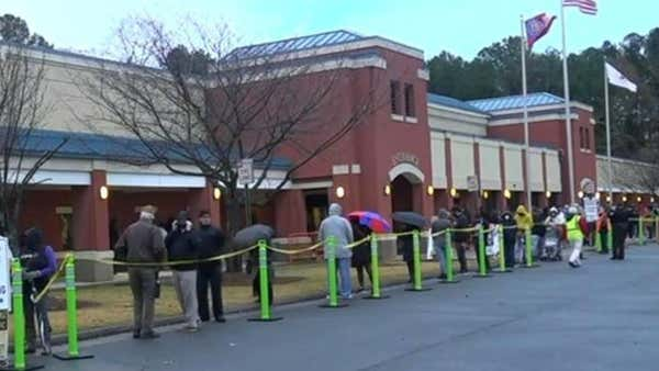 Early voting underway for Georgia's two Senate runoff elections