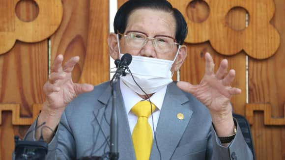 S. Korean Sect Leader Arrested For Hindering Virus Efforts