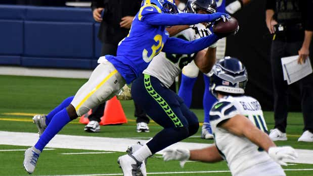 Rams defense rises to occasion again in 23-13 win over Seahawks
