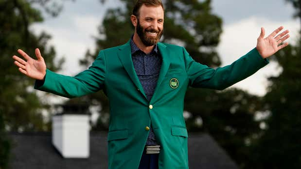 Whicker: The silencer: Dustin Johnson routs the record book and the Masters field