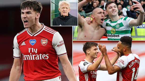 Gordan Strachan hails Kieran Tierney's 'lunatic' mentality as Arsenal man prepares for FA Cup final