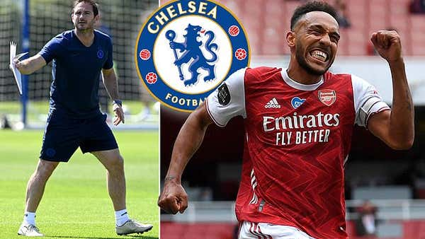 Arsenal skipper Pierre-Emerick Aubameyang plotted shock move to Chelsea in January