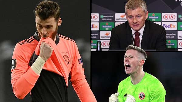 David de Gea confident Dean Henderson won't dislodge him as Manchester United No 1