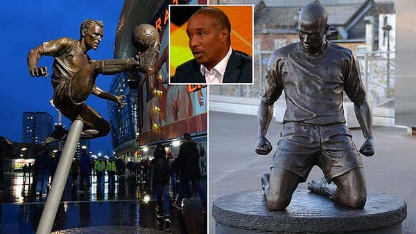 Paul Ince is ridiculed after naming Arsenal legends for statues but pair ALREADY have them!