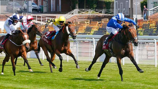 Battaash wins King George Stakes for fourth successive year at Goodwood